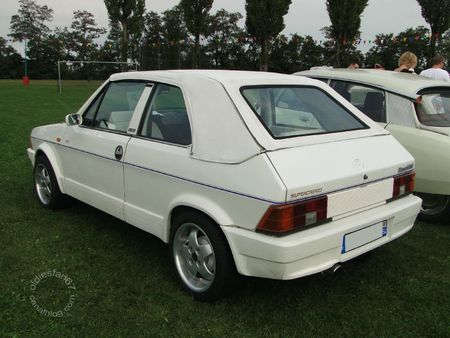 Bertone ritmo 100s supercabrio 1986 bourse de crehange 2011 2