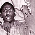 Afrique : au burkina faso, hommage à thomas sankara