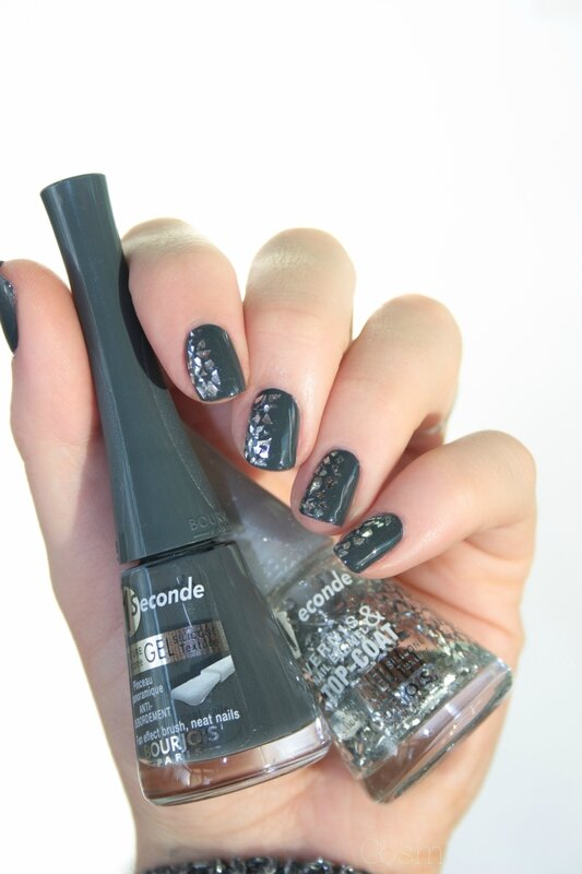 Bourjois ENCHANTING NIGHTBIRD Glitterizer Grey to meet you-5