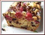 0236s- cake amande, framboises et chocolat