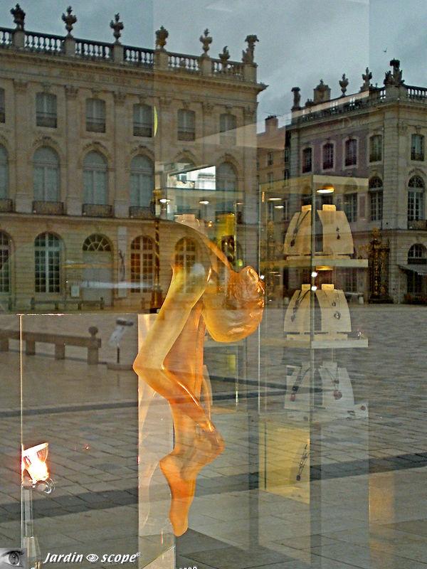 La place Stanislas de Nancy et le cristal Daum