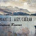 Nouvelles dates proposées pour des stages d'aquarelle