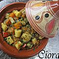 Tajine de Panais et Potiron