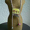Bijoux textile la suite ...