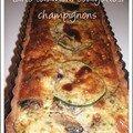 Tarte saumon-courgettes-champignons