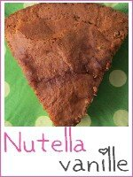 gateau vanille - nutella - index