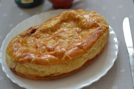 Pithiviers aux framboises (6)