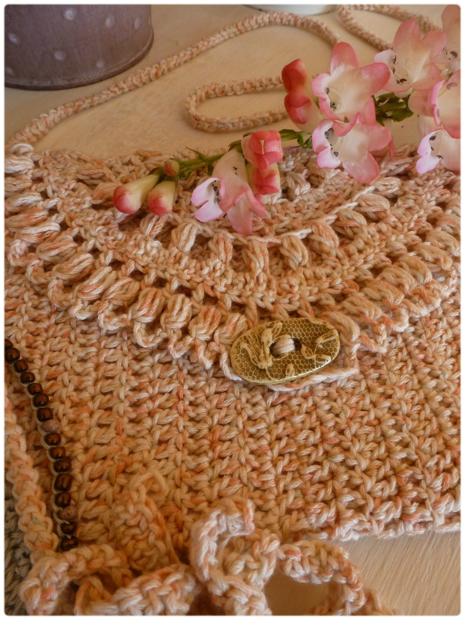 Sérial crocheteuses N° 229- Mariage à la Campagne