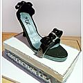 Layer cake 3 chocolats .... fashion shoes pour fêter des 20 ans !!!