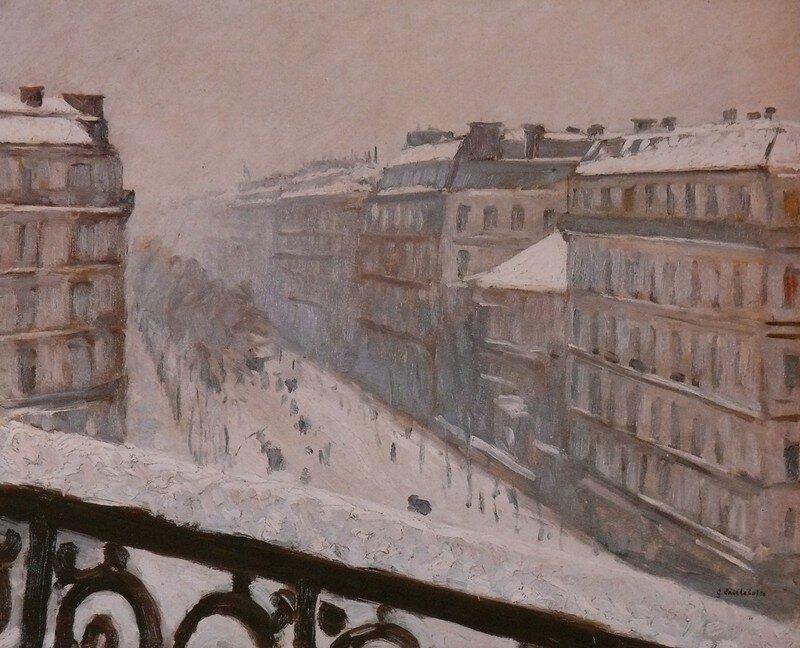 Paris temps de neige