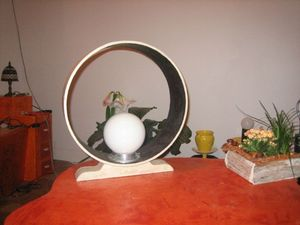 lampe ronde