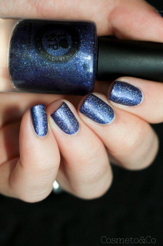 nail art ilnp indie go paillette holographique zoo h&m-5