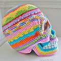 Santa muerte sugar skull