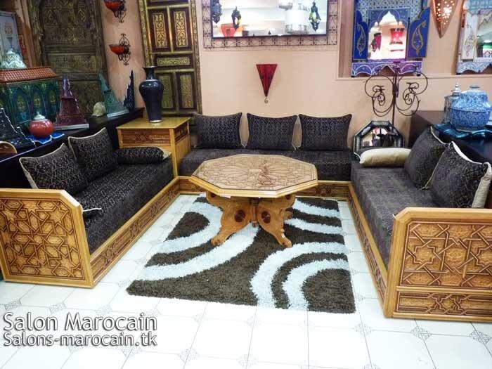 Incroyable salon marocain moderne 2014 salon marocain moderne for Les canapes marocains