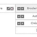 Comment créer un menu horizontal sur mon blog ?