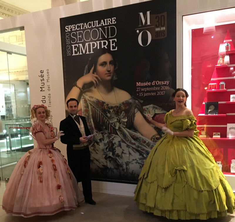 spectaculaire second empire au musée d'orsay avec actafabula