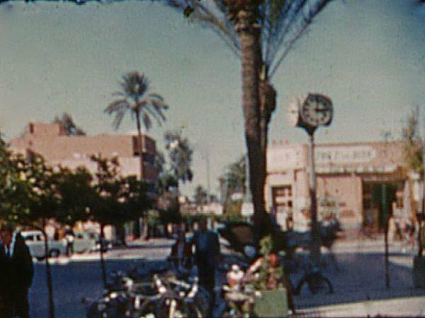 Horloge en 1957