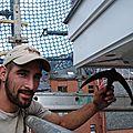 Rénovation: aménagement d'une vieille corniche à jette