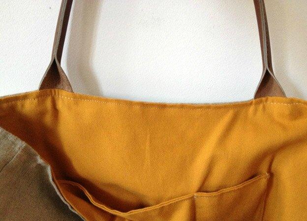sacs en lin et cuir minots cie et made in marseille. Black Bedroom Furniture Sets. Home Design Ideas