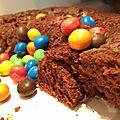 Gâteau nuage chocolat-crème de marron