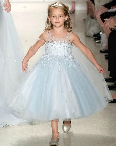 Coup du coeur pour la robe de mariée inspiration de Reine des Neiges
