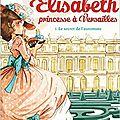 Elisabeth, princesse à versailles, tome 1 : le secret de l'automate, par annie jay