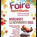 Foire du 11 novembre à alby - bijoux volutes en promotion