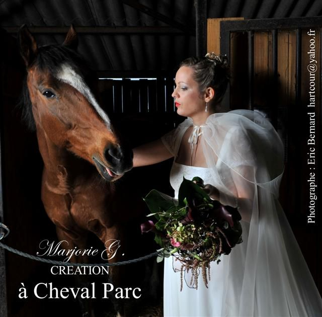 2 cheval parc sallertaine marjorie g creation robe de mariée angel cheval (Small)