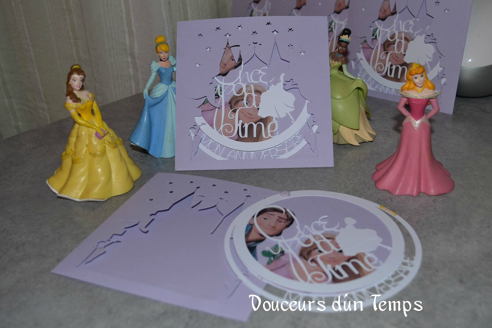 Hervorragend Invitation de princesse - Douceurs d'un temps LR33