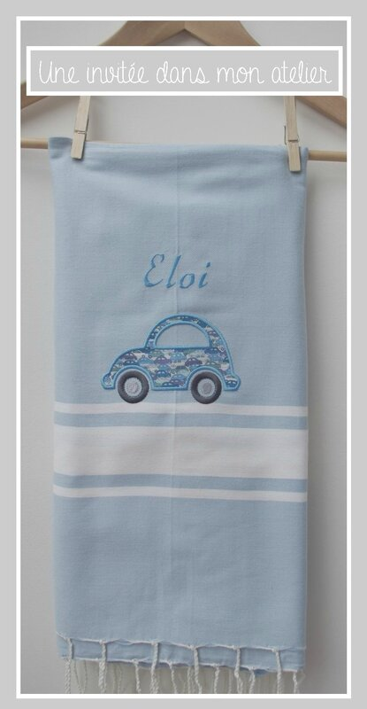 fouta-Liberty cars blue