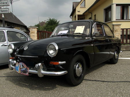 VOLKSWAGEN 1500 Type 31 Notchback 1964 Lipsheim Retro 2010 1
