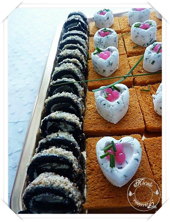 """Un petit apéritif avec les pains festifs """"LA BOULANGÈRE"""""""