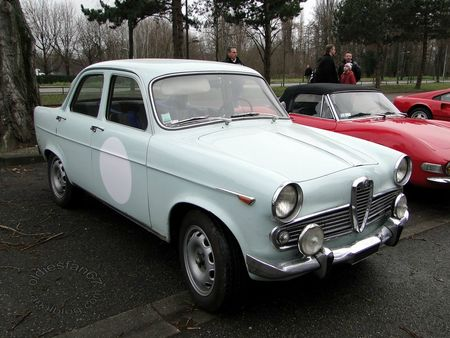 alfa romeo giulietta ti serie III 1961 1965 retrorencard 2013 3