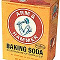 Baking soda (bicarbonate de sodium)