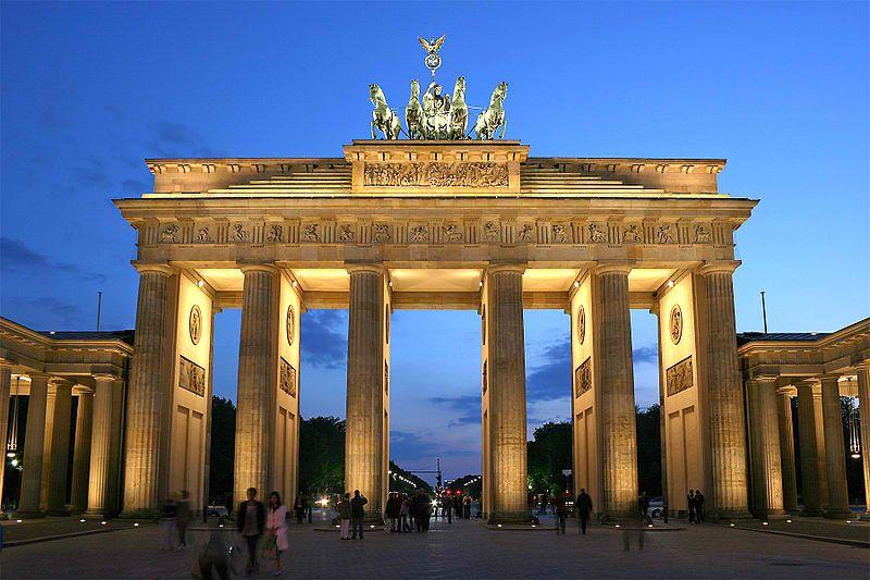 La Porte de Brandebourg de Berlin