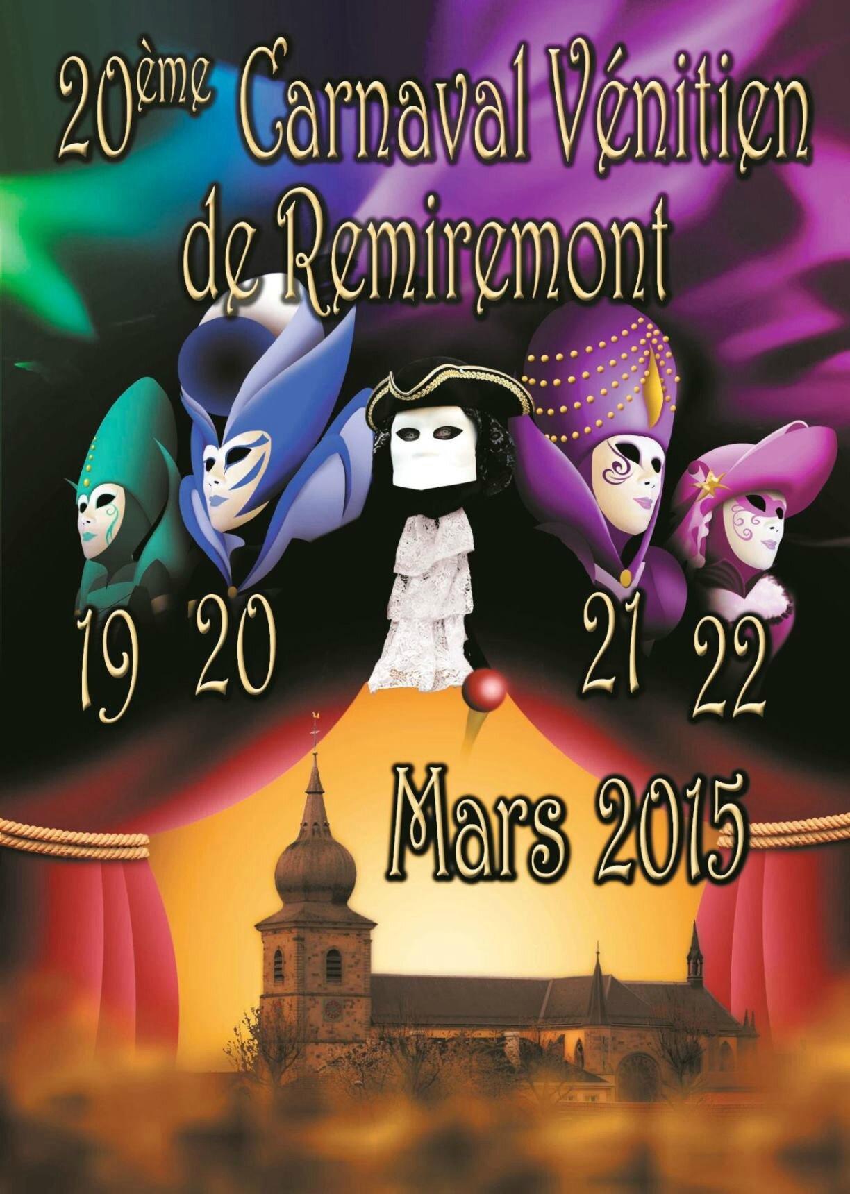 Remiremont Carnaval 2015