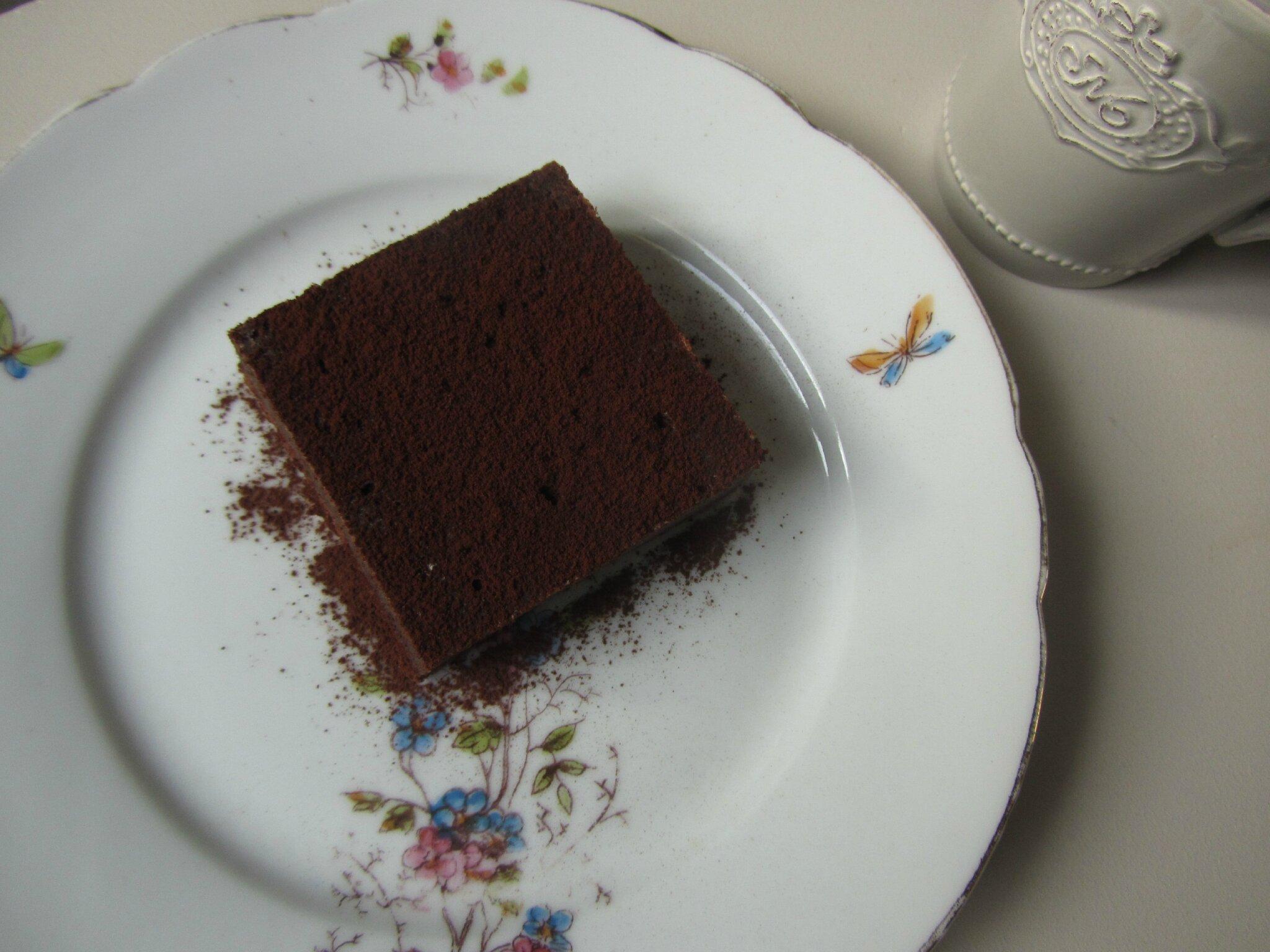 brownies chocolat cr me de marron le palais des saveurs. Black Bedroom Furniture Sets. Home Design Ideas