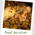 Poulet aux olives de valérie damidot