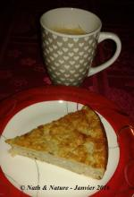 Gâteau pomme-banane aux flocons d'avoine - 5