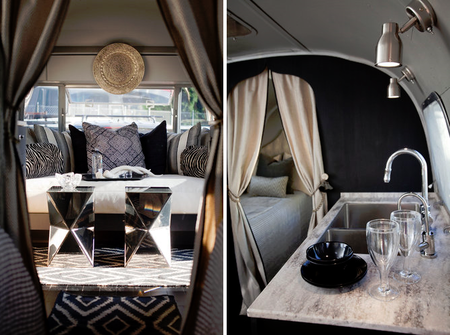 vintage airstream caravan regards et maisons. Black Bedroom Furniture Sets. Home Design Ideas