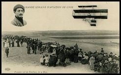 Paulhan - semaine d'aviation de Lyon - 1910