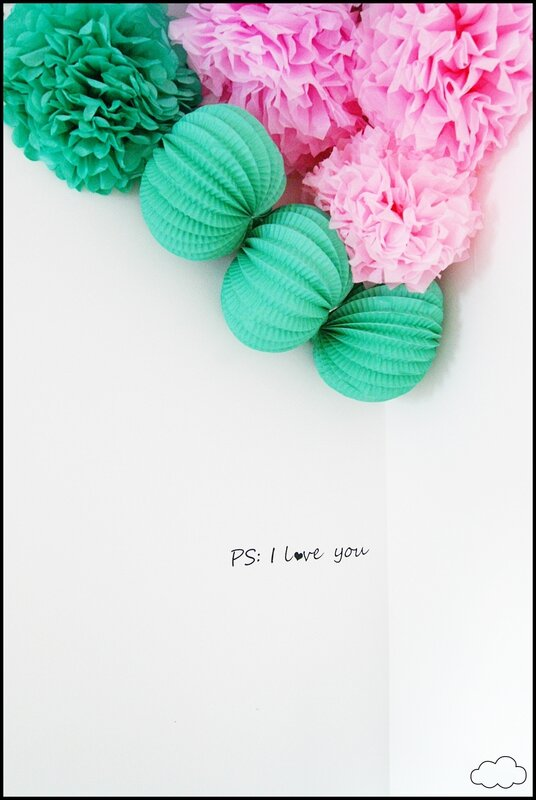 stickers PS-I love You