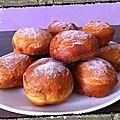 Boules de berlin (ou beignets moelleux)