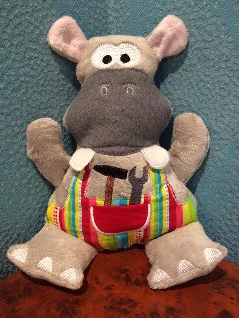 hipopotame bricoleur