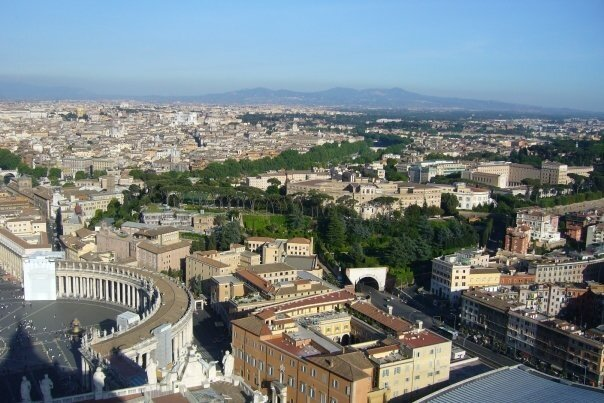 Rome vue de coupole