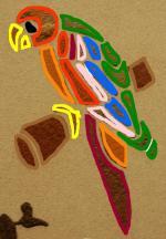 perroquet dessin