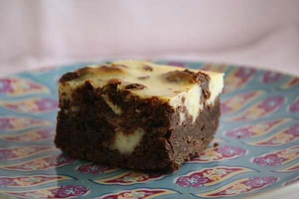 brownie cheesecake 1