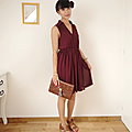 Plum dress