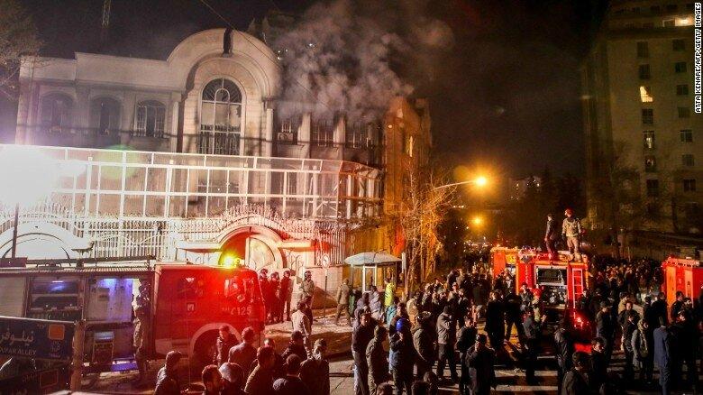 Ambassade saoudienne à Téhéran