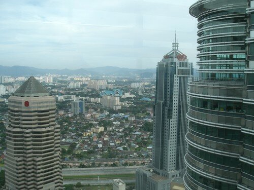 KL, depuis le skybridge des Twin Towers
